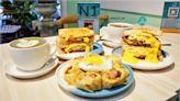 隔壁早餐 NextDoor~超好拍失控瀑布花醬雪花牛歐姆蛋