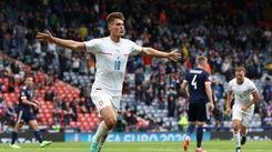 希克近50公尺遠射進球 歐國盃捷克2比0勝蘇格蘭