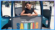 Amazing 2nd Grader Helps Build The Most Accessible Inclusive Playground in New York