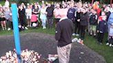 Around 300 people attend vigil for Killamarsh victims