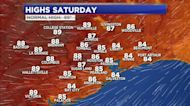 Humidity to return later this weekend