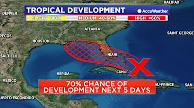 Tropical depression likely to form in Gulf of Mexico