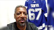 Lightning's U.S. national anthem singer hospitalized with COVID-19
