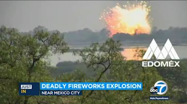 Fireworks explosion in Mexico leaves 2 dead, 1 gravely injured: Video