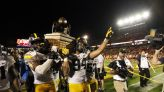 Iowa had a police-escorted sandwich delivery during weather delay vs. Iowa State