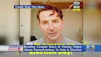 Bradley Cooper Encouraging People In Pennsylvania To Vote