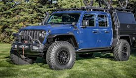 Jeep Gladiator Top Dog Concept Revealed For Hardcore Mountain Bikers