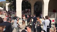 J-Lo and Ben Affleck hold hands at Venice Film Festival