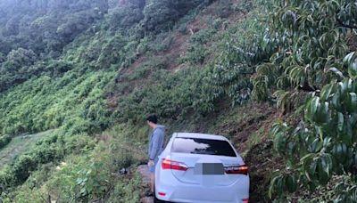 沒有回頭路... 情侶駕車出遊被誤「導」 受困南投屯原山區