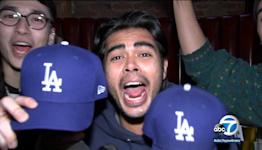 Fans elated after Dodgers' epic comeback win over Braves