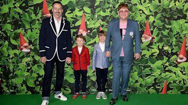 Elton John and his family create adorable Halloween 'Crocodile Rock' TikTok
