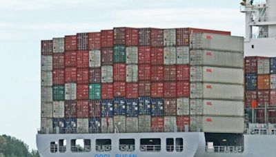 Container Ships Now Piling Up At Anchorages Off China's Ports