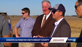 Wright County welcomes Kosovo agriculture minister