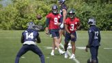 Metcalf back with Seahawks after testing 100-meter dash