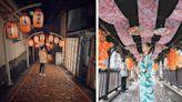 神隱少女商店街不在九份?台南大紅燈籠引網美朝聖