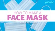 How to make a face mask from home — according to the CDC