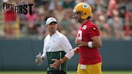 Brandon Marshall: Aaron Rodgers deserves a seat at the table, but now the pressure is on him I FIRST THINGS FIRST