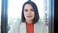 Tikhanovskaya: Painful to see my husband in court