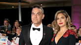 Robbie Williams shows off completely bald new look after wife Ayda Field shaves his head