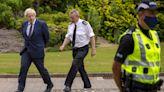 Boris Johnson in police funding pledge ahead of Cop26 summit
