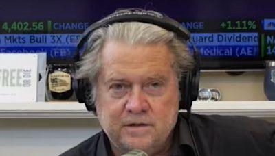 Steve Bannon admits he helped plan 6 January Trump rally to 'kill the Biden presidency in the crib'