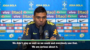 Brazil ready to move on from Senegal draw - Casemiro