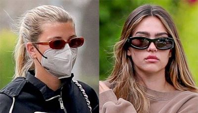 "Sofia Richie Narrowly Avoids ""Very Awkward"" Run-In With Scott Disick's Girlfriend Amelia Hamlin"
