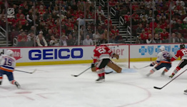 Cal Clutterbuck with a Goal vs. Chicago Blackhawks