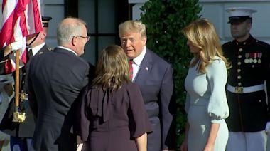 Trump welcomes Australia PM to White House