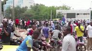 Celebrations amid rumours of Mali military coup