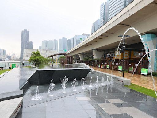 觀塘音樂噴泉|建築署稱噴泉屬泳池規格 區議員諷應加設沖身設施