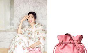 秦嵐年過40提「少女粉水桶包」仍無違和!女神同款僅一間門市獨賣