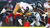 49ers' running backs even more banged up after win vs. Eagles