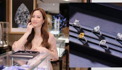 若你以自然為美,時尚博主推薦採用天然美鑽的DE BEERS「The 1888 Master Diamonds 系列」 | HARPER'S BAZAAR HK
