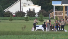 Chase ends with homicide suspect arrest in Johnston Co., police say