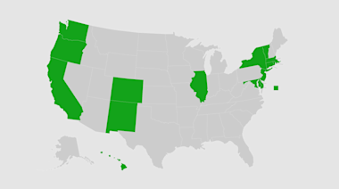 Map: These are the states that have agreed to a plan to replace the Electoral College