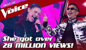 Thai VIRAL SENSATION sings her way to the FINALS in The Voice