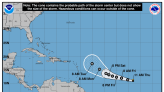 Tropical Storm Sam swirls to life, expected to intensify into a hurricane this weekend