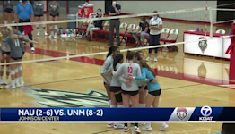 Lobos wrap non-conference schedule with win over NAU