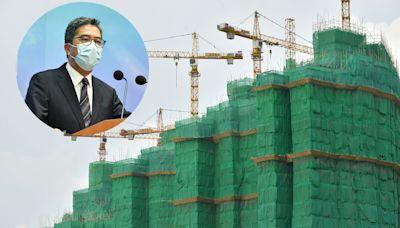 政府研設私樓最低面積 黃偉綸指最快明年推行