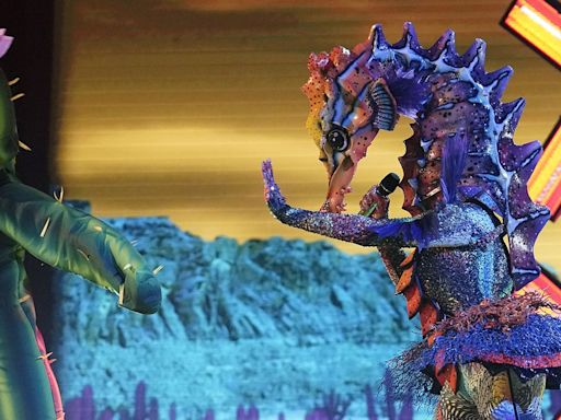 A Powerful Country Singer Was Hiding Beneath the Seahorse on 'The Masked Singer'