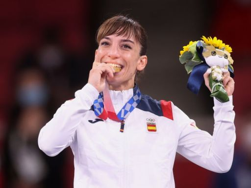 Olympics-Karate-'Golden' anniversary: A double toast for Spain's karate couple