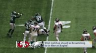 Matchups to watch in 49ers-Eagles Week 2 'GMFB'