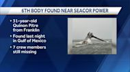Lafourche Parish coroner confirms sixth body recovered from Seacor Power lift boat tragedy