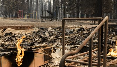 Shock: From Fires to Floods, Climate Change Disrupts School For 1 Million Kids