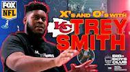 THE BIG BOYS CLUB: X's and O's with Kansas City Chief - Trey Smith | FOX NFL