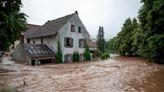 Floods sweep through western Europe