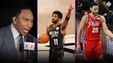 ESPN's Stephen A. Smith backtracks on report of Nets-76ers trade involving Kyrie Irving, Ben Simmons