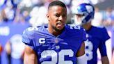 Giants injury updates: Saquon Barkley, Kenny Golladay, and Kadarius Toney still out