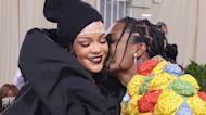 Rihanna Gets Kiss From A$AP Rocky At 2021 Met Gala